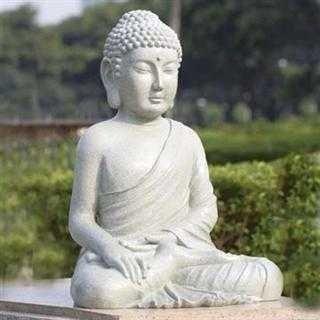 500015: SERENE GARDEN BUDDHA