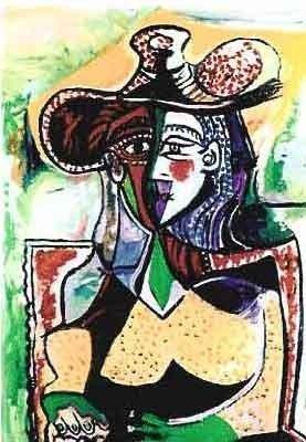 "500037: PICASSO ""PORTRAIT OF WOMAN"""