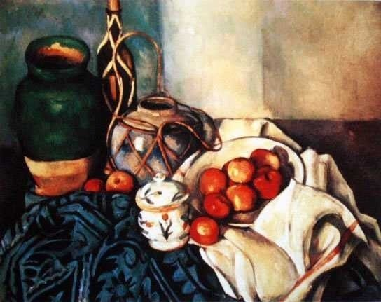 """500045: CEZANNE """"STILL LIFE WITH APPLES"""""""