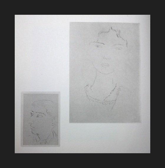 500049: VINTAGE 1956 MATISSE LITHOGRAPH