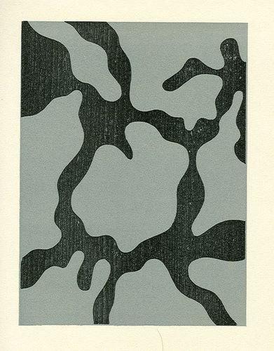 500579: JEAN ARP ORIGINAL WOODCUT 1954