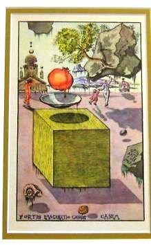 600002: DALI ANTIQUE LITHOGRAPH (1945)