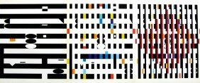 600126: YAACOV AGAM ORIGINAL SERIGRAPH SCREENPRINT