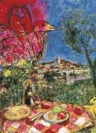 601114: CHAGALL LIMITED EDITION LITHOGRAPH