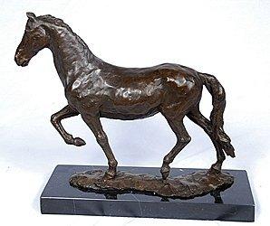 "800006: ""HORSE"" BRONZE SCULPTURE"