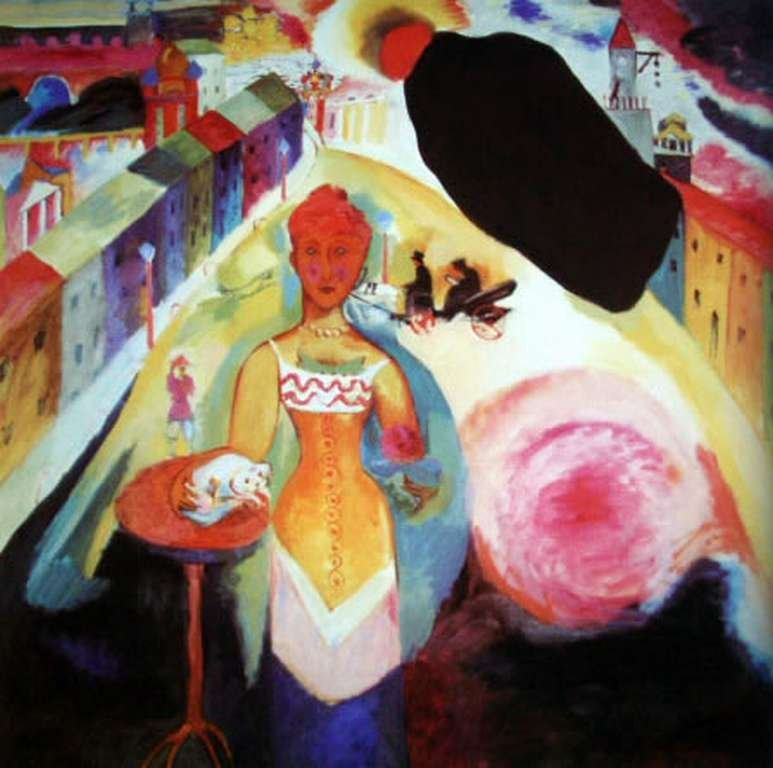 """800024: KANDINSKY """"LADY IN MOSCOW"""""""