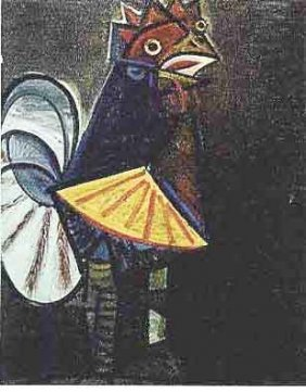 """100003: PICASSO """"ROOSTER"""""""