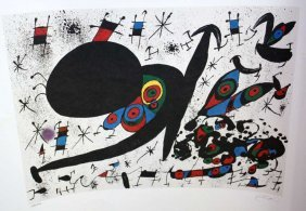 """100015: MIRO """"HOMAGE TO JOAN PRATTS"""" LIMITED EDITION"""