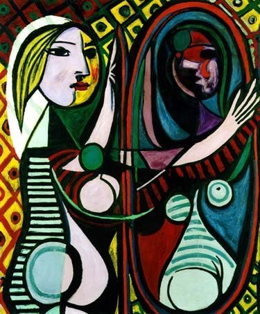 "100023: PICASSO ""GIRL BEFORE A MIRROR"""