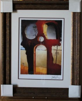 100008: DALI LIMITED EDITION GICLEE
