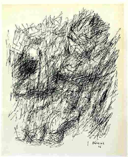 200034: JEAN BAZAINE ORIGINAL LITHOGRAPH, 1956