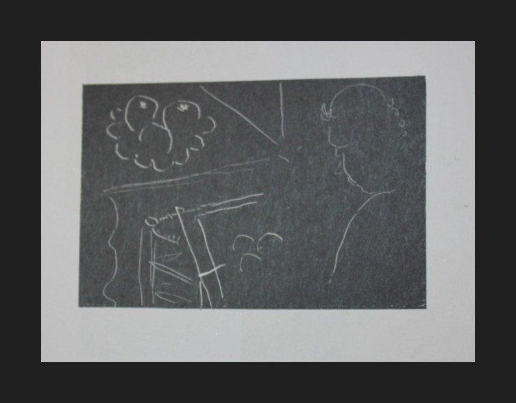 300015: VINTAGE 1956 MATISSE LITHOGRAPH