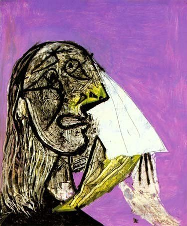 """300025: PICASSO """"WEEPING WOMAN"""""""