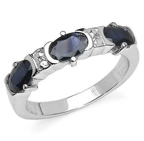 500014C: 1.95 Carat Blue Sapphire .925 Sterling Silver