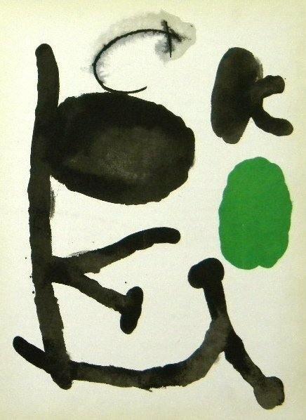 600022: JOAN MIRO ORIGINAL LITHOGRAPH, 1961
