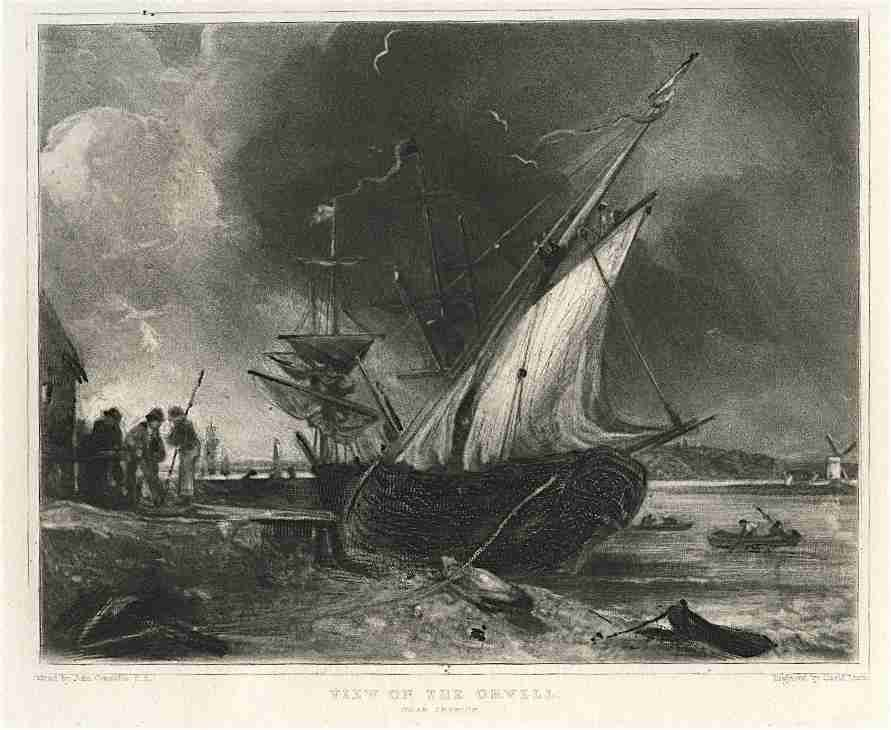 300017: SIR JOHN CONSTABLE / DAVID LUCAS MEZZOTINT