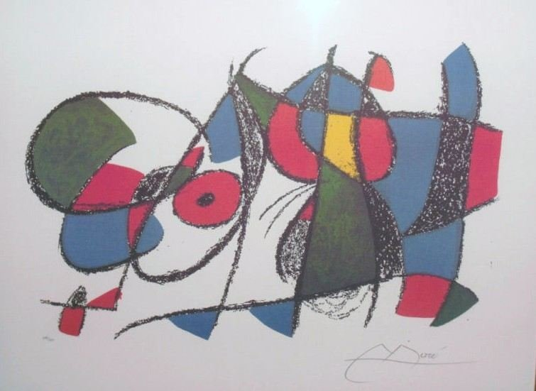 "300029: MIRO ""VOLUME II LITHO VIII"" LIMITED EDITION"