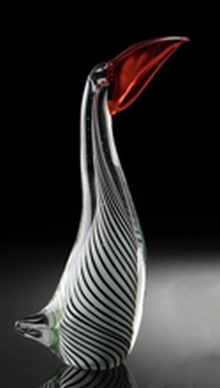 100003: ART GLASS TOUCAN