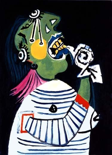 """300011: PICASSO """"WOMAN IN DISTRESS"""""""