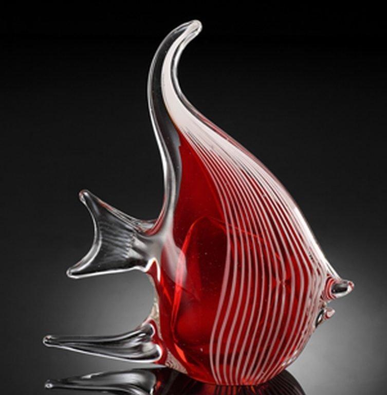500001: ART GLASS ANGEL FISH