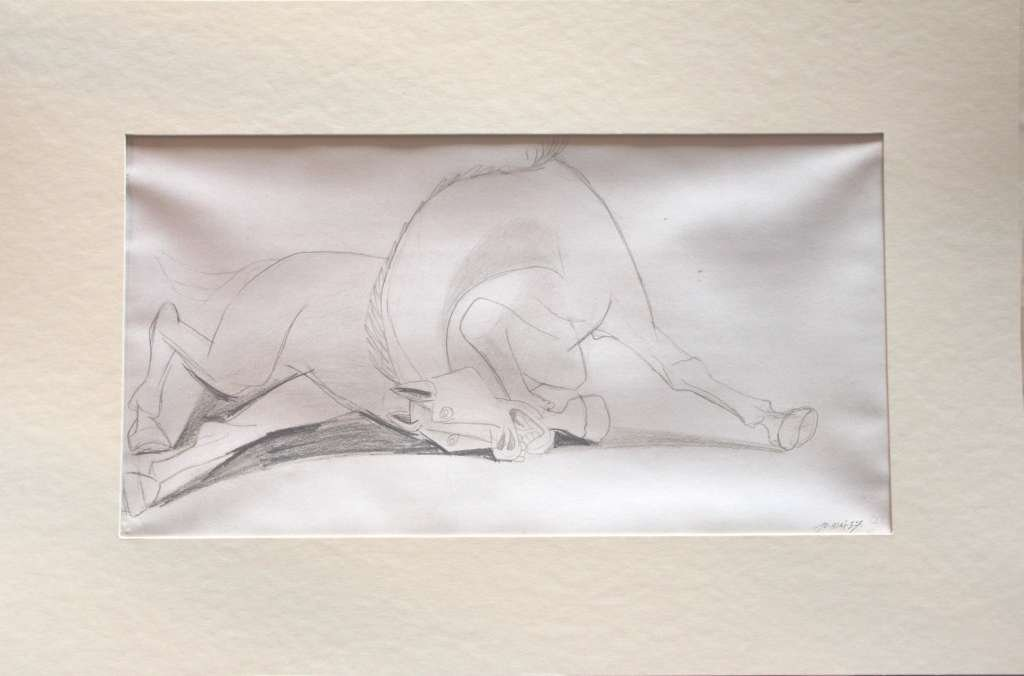 """500031: PICASSO """"STUDY OF GUERNICA"""" - 1937 - MINT"""