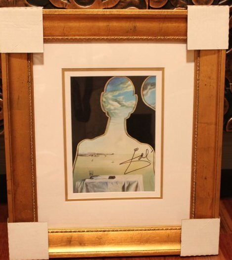 600021: DALI HAND SIGNED LITHOGRAPH