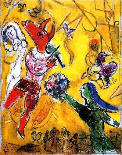 "700769: MARC CHAGALL ""THE DANCE & CIRCUS"""