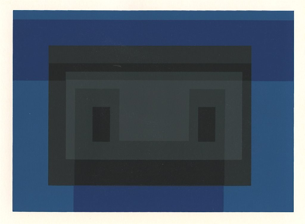 700034: JOSEF ALBERS SILKSCREEN VARIANT ON A THEME