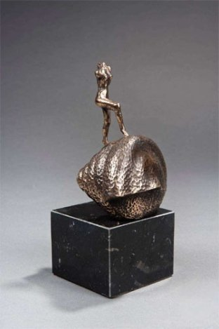 700000A: DALI 1973 LTD. ED. BRONZE SCULPTURE