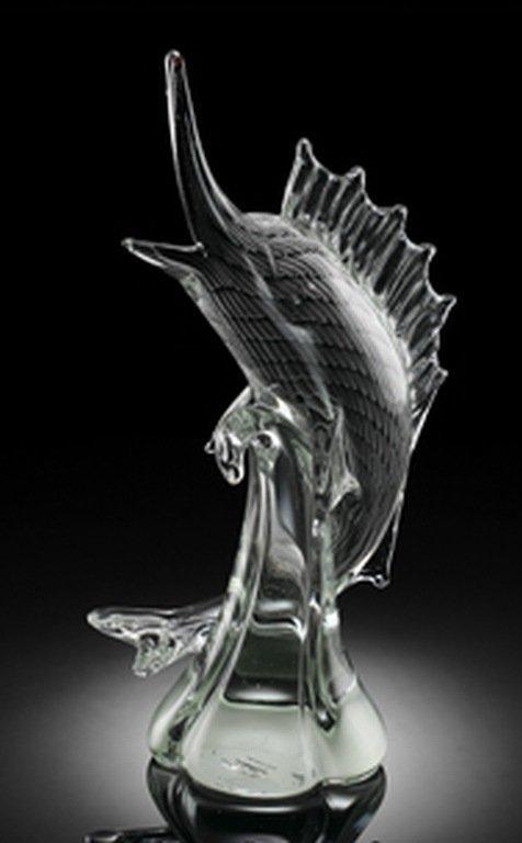 900003: ART GLASS SAILFISH