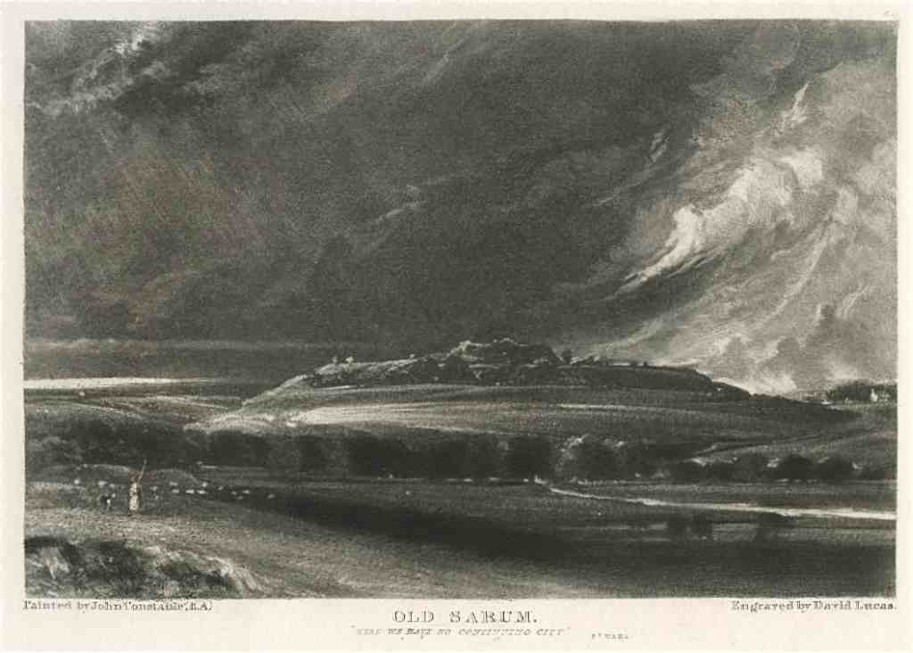 900555: SIR JOHN CONSTABLE / DAVID LUCAS MEZZOTINT