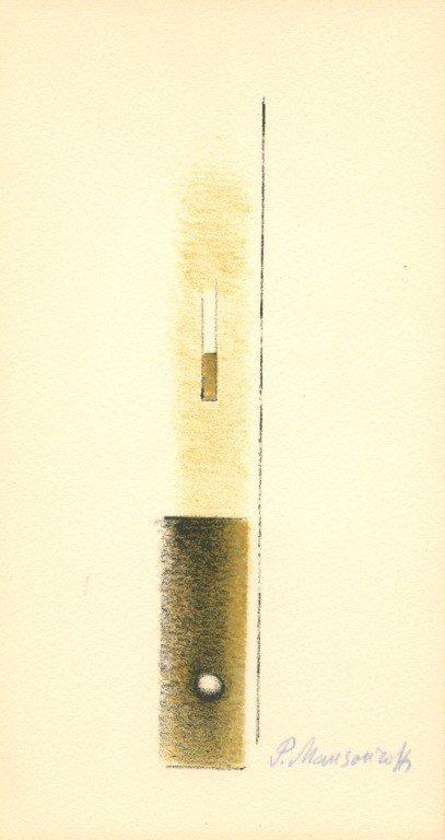 1000026: MANSOUROFF SIGNED ORIGINAL LITHOGRAPH