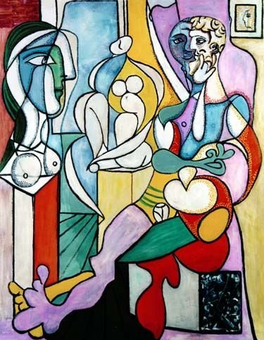 "1000172: PICASSO ""ARTIST WITH SCULPTOR"""