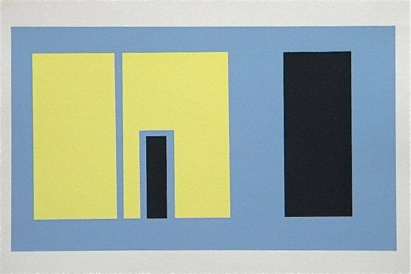 200004: JOSEF ALBERS SILKSCREEN INTERACTION OF COLOR, 1