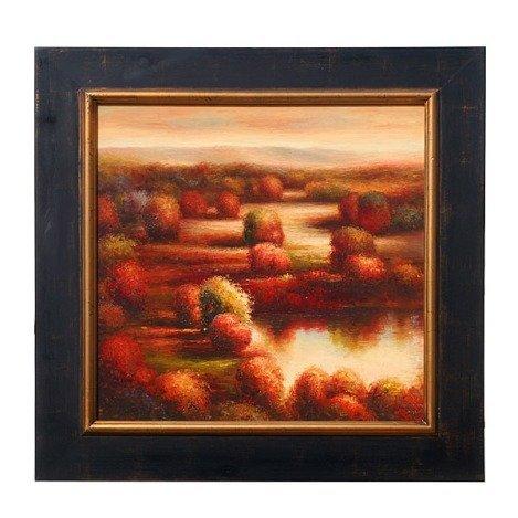 "200032: ""MODERN LANDSCAPE"" - ORIGINAL OIL ON CANVAS"