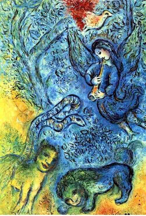 "300001: MARC CHAGALL ""MAJIC FLUTE"""