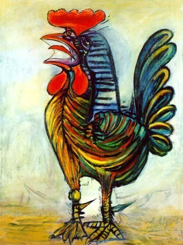 "300033: PICASSO ""THE ROOSTER"""