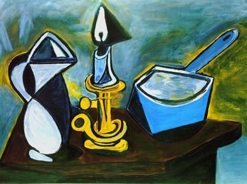 """400036: PICASSO """"STILL LIFE WITH CANDLE"""""""