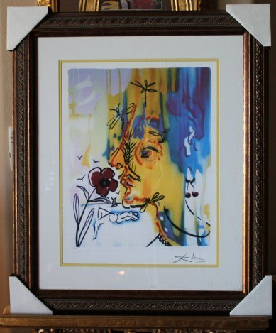500009: DALI LIMITED EDITION GICLEE