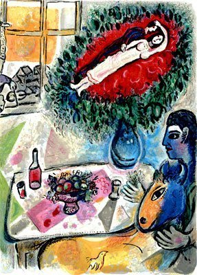 "500021: MARC CHAGALL ""REVERIE"""