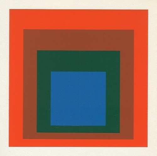 """700259: ALBERS SILKSCREEN """"HOMAGE TO THE SQUARE"""""""