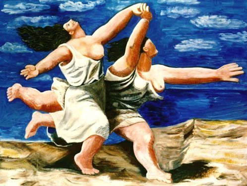 """800020: PICASSO """"RUNNING ON THE BEACH"""""""