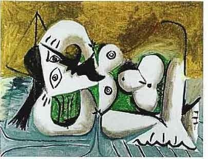 "PICASSO ""RECLINING NUDE"""