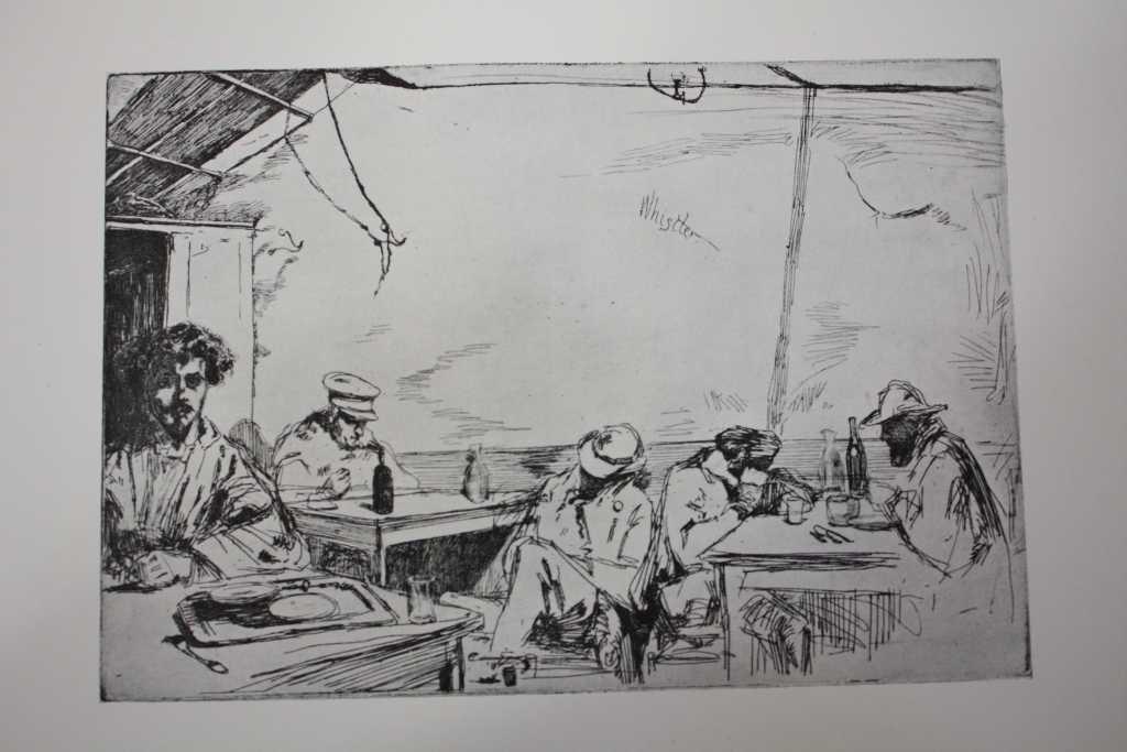 1920 WHISTLER-  ANTIQUE HELIOGRAVURE