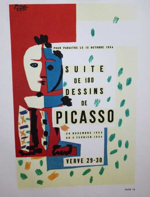 PICASSO - HELIOGRAVURE - SUITE DE 180 DESSINS
