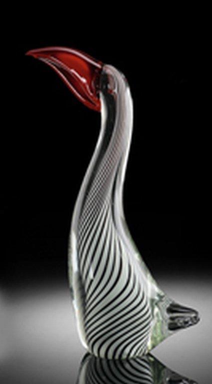 ART GLASS TOUCAN