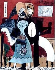 "PICASSO ""DANCING COUPLE"""