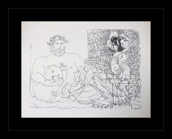 1956 ANTIQUE PICASSO LITHOGRAPH
