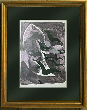 GEORGES BRAQUE 1964 LTD. ED. LITHOGRAPH
