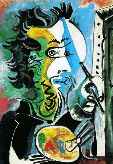 """PICASSO """"THE ARTIST"""""""